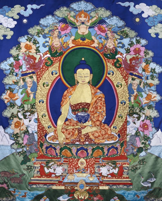 Silk Thangka